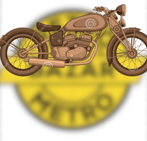 Kovové modely: autá, motorky, bicykle